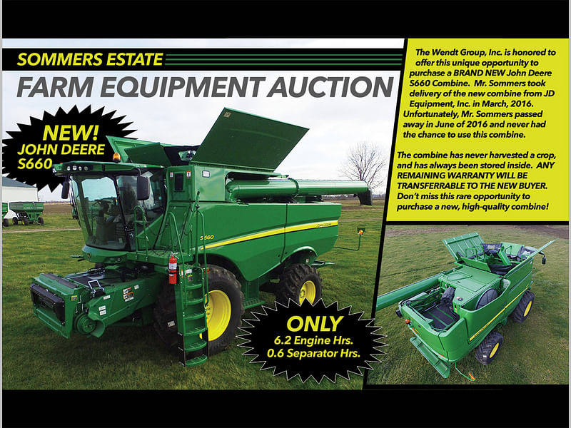 Sommers Estate Equipment Auction | The Wendt Group, Inc